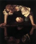 Caravaggio : Narcis (kolem roku 1598), olej na plátně