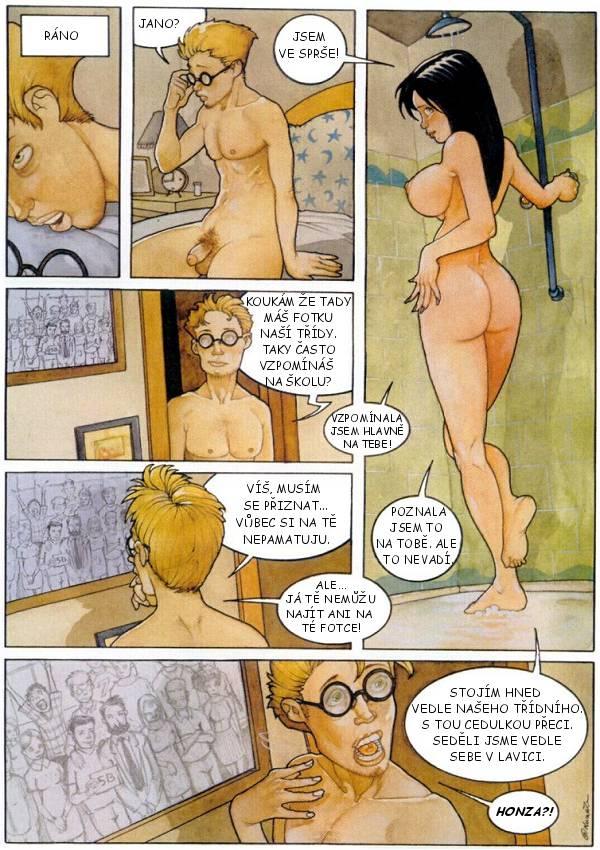 oslava masáž sex