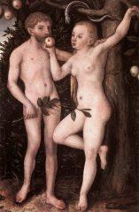 Cranach: Adam a Eva